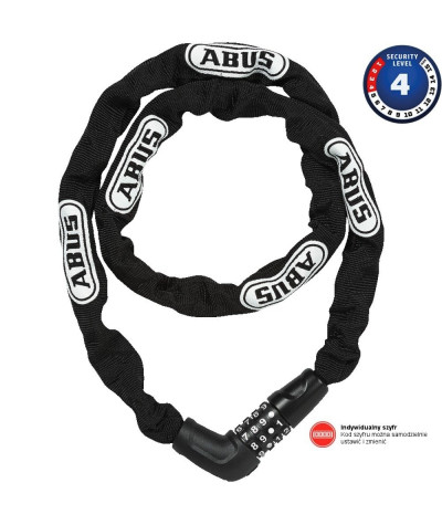 ABUS Steel O Chain 5805C/75 BK