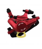 Pół hydrauliczny zacisk hamulcowy Zoom hb-100 czerwony