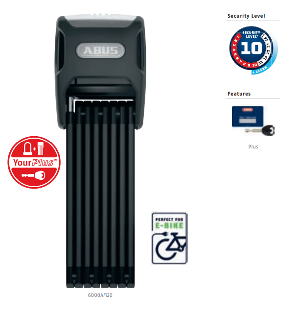 ABUS 6000A/90 BK SH Bordo Alarm